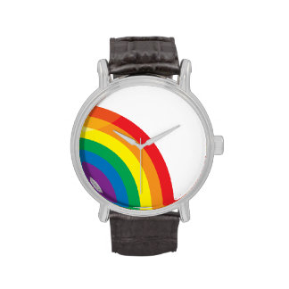 GAY RAINBOW RIGHT HALF -.png Wristwatches