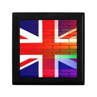 Gay Rainbow Wall Union Jack Gift Box