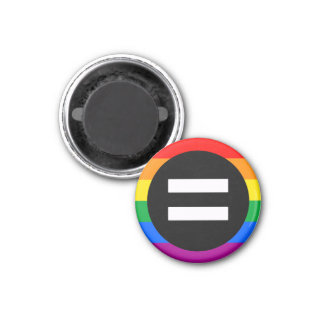 Gay Rights Flag 3 Cm Round Magnet
