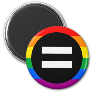 Gay Rights Flag 6 Cm Round Magnet