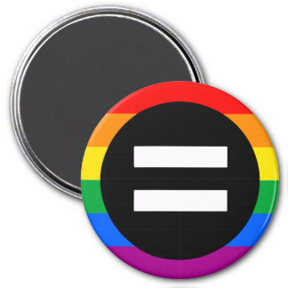 Gay Rights Flag 7.5 Cm Round Magnet