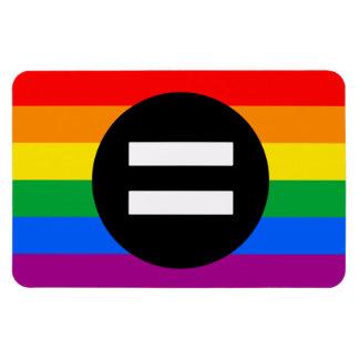 Gay Rights Flag Rectangular Photo Magnet