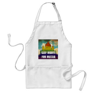 Gay Rights for Russia Standard Apron
