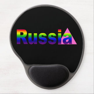Gay Russia Gel Mouse Pad