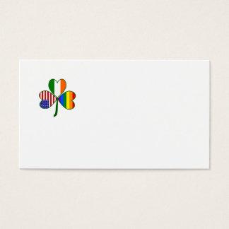 Gay Shamrock Business Card