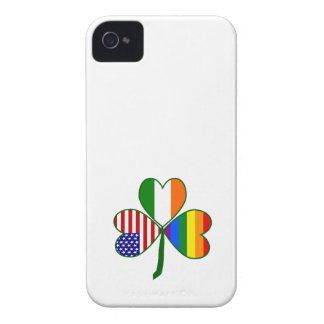 Gay Shamrock Case-Mate iPhone 4 Cases
