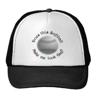 Gay Softball Cap