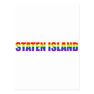 Gay Staten Island postcard