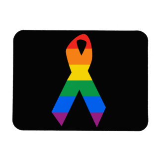 GAY SUICIDE AWARENESS - .png Rectangular Photo Magnet
