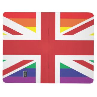 GAY UK (BRITISH FLAG) Pocket Journal