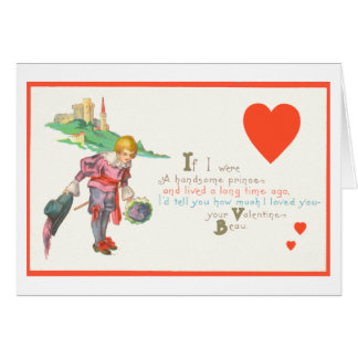 Gay Valentine Prince Card