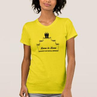 GAY WEDDING CAKE LOVE -.png T-shirts
