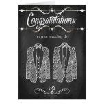 Gay Wedding Congratulations Card