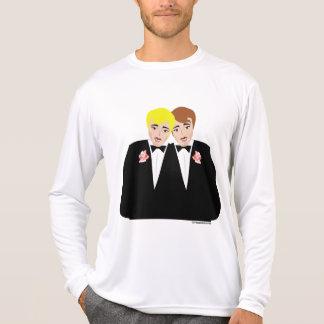 Gay Wedding Groom T-shirts and Apparel