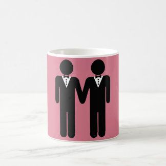 GAY WEDDING TOPPER MEN - png Coffee Mug