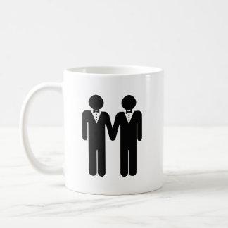 GAY WEDDING TOPPER MEN - png Mug