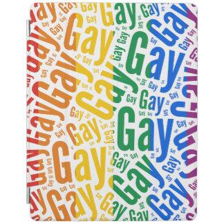 GAY WORDS RAINBOW iPad COVER