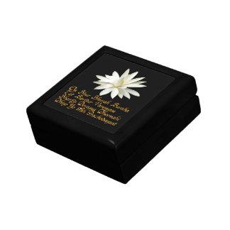 Gayatri mantra small square gift box
