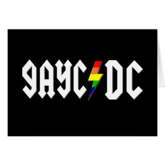 GayC/DC on Black Card