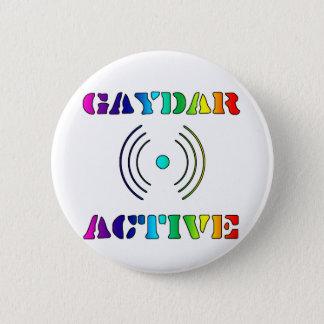 Gaydar Active II 6 Cm Round Badge