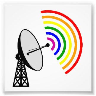 Gaydar Gay Rainbow LGBT Radar Photograph