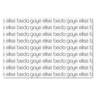 Gaye Elise Beda Tissue Paper