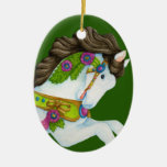 Gayle Carousel Horse Ornament