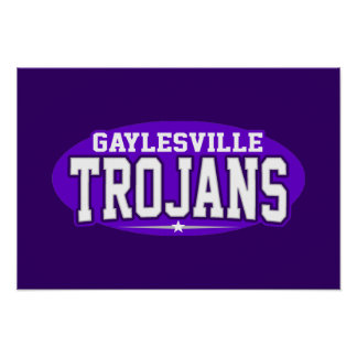 Gaylesville High School; Trojans Posters