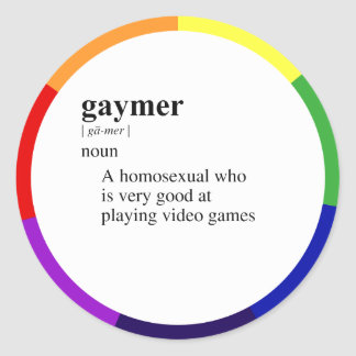 GAYMER STICKERS