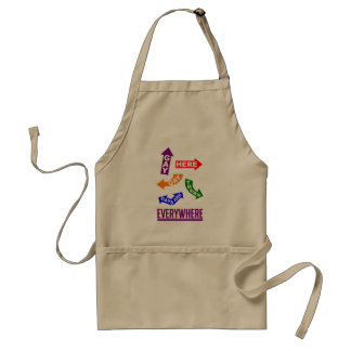 Gays Everywhere apron