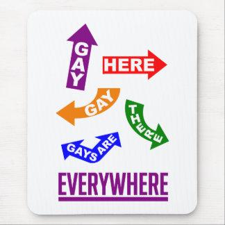 Gays Everywhere mousepad