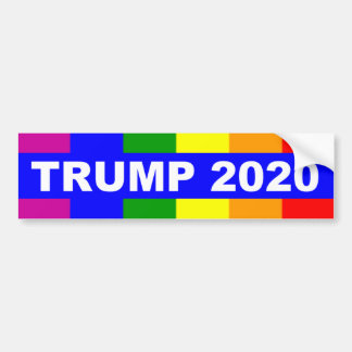 Gays For Donald Trump 2020 Bumper Sticker
