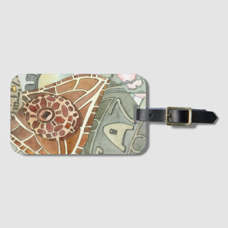 Gaz Utility Covers Dala Art Luggage Tag