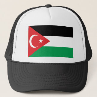 Gaza Turkey solidarity flag Trucker Hat