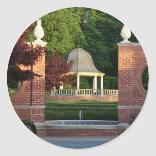 Gazebo at Missouri Botanical Garden Sticker