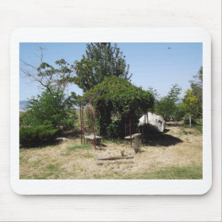 Gazebo with Vines Mouse Pad