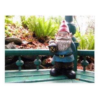 Gazeebo Gnome Postcard