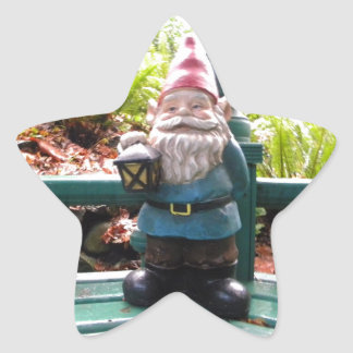 Gazeebo Gnome Star Sticker