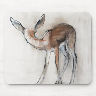 Gazelle Fawn Mouse Pad