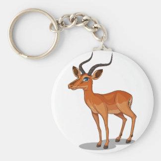 Gazelle Key Ring