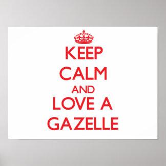 Gazelle Print