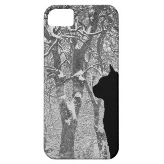 Gazing in the Snow iPhone 5 Cover