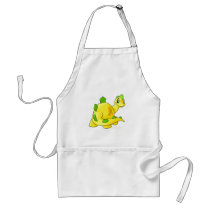 Gazing yellow Chomby aprons
