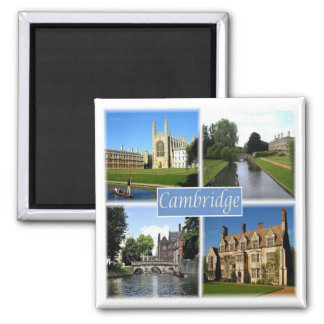 GB * England - Cambridge Magnet