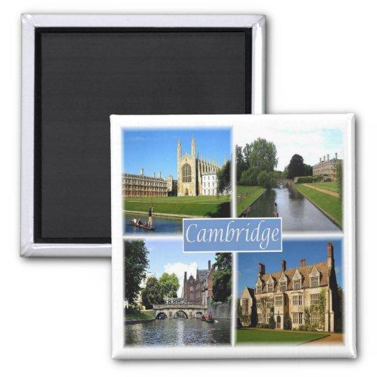 GB * England - Cambridge Magnet