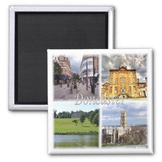 GB * England - Doncaster Square Magnet