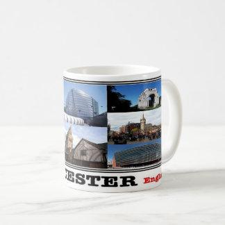 GB England - Leicester Mosaic - Coffee Mug