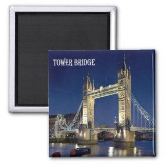 GB - England - London -  Tower Bridge Square Magnet