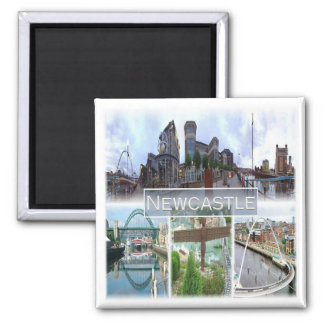 GB * England - Newcastle Magnet