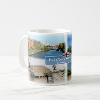 GB England -  Norwich -  Norfolk - Coffee Mug